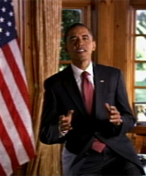 Barack Obamma made his own TV Infomercial